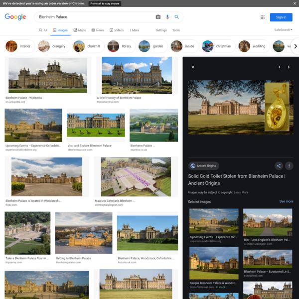 Blenheim Palace - Google Search
