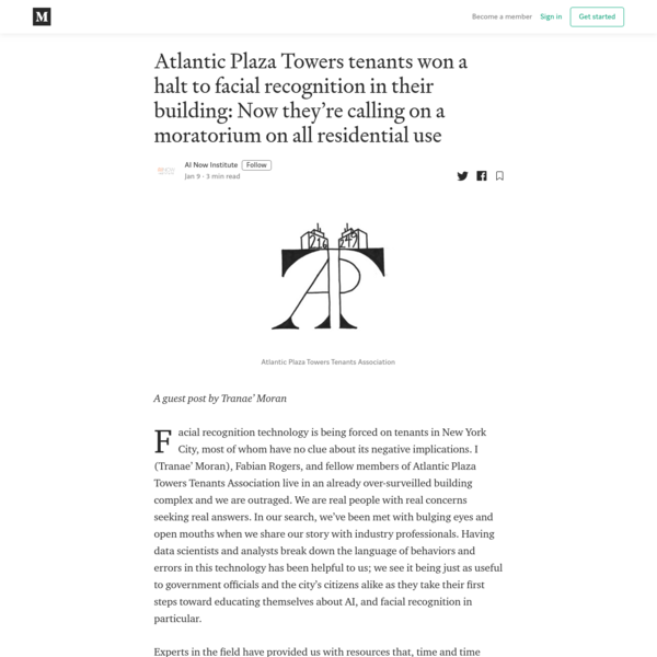 Atlantic Plaza Towers tenants won a halt to facial recognition in their building: Now they're...