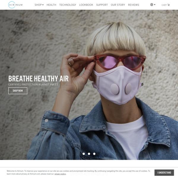Airinum - Next generation health accessories.