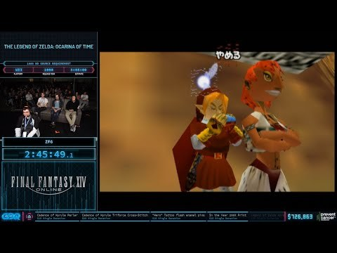 AGDQ 2020 - Ocarina of Time 100% No Source Requirement Speedrun in 2:50:12