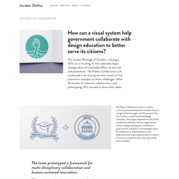 The Public Collaboration Lab - Jordan DeVos