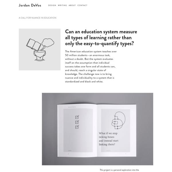 A Call for Nuance in Education - Jordan DeVos