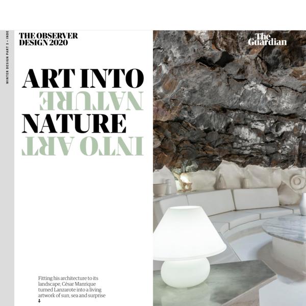 'Art into nature, nature into art': César Manrique, the architect of Lanzarote   Art and design   The Guardian