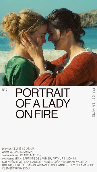 Movies 2019 — 2: Portrait of a Lady on Fire
