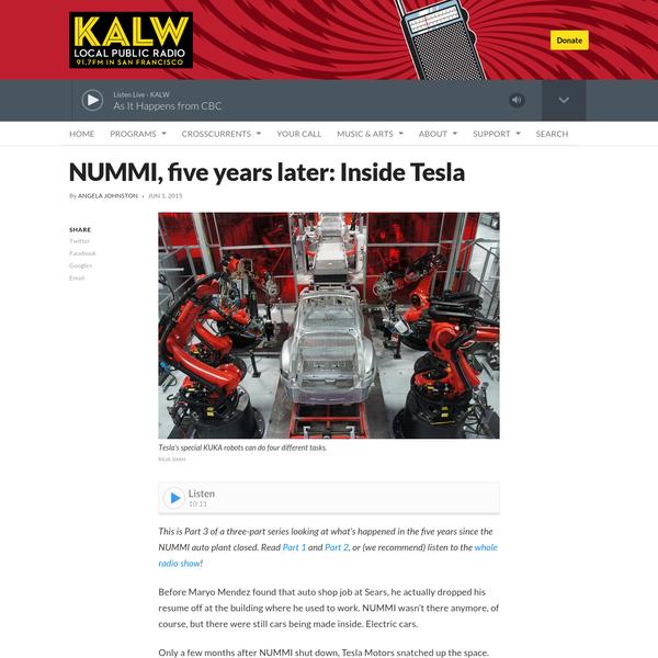 NUMMI, five years later: Inside Tesla