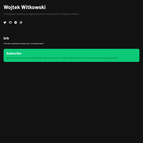 Wojtek Witkowski