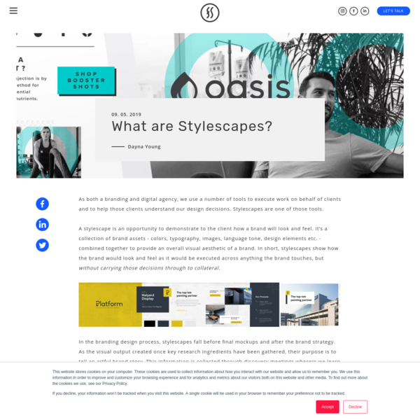 What are Stylescapes?
