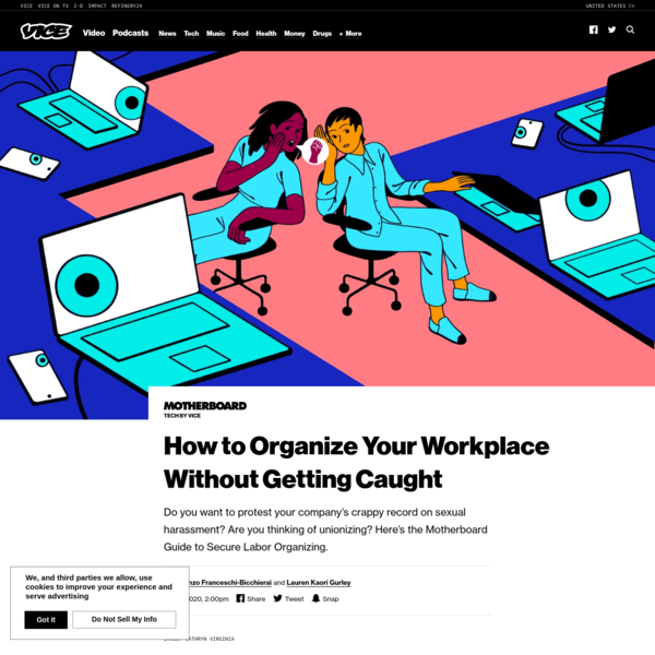 How to Organize Your Workplace Without Getting Caught