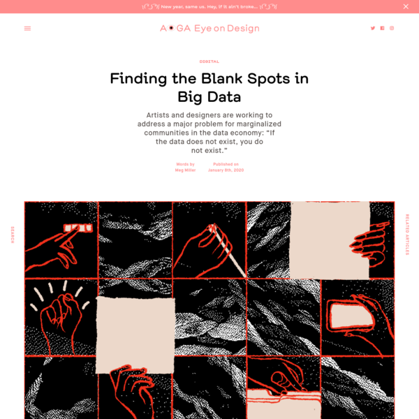 Finding the Blank Spots in Big Data