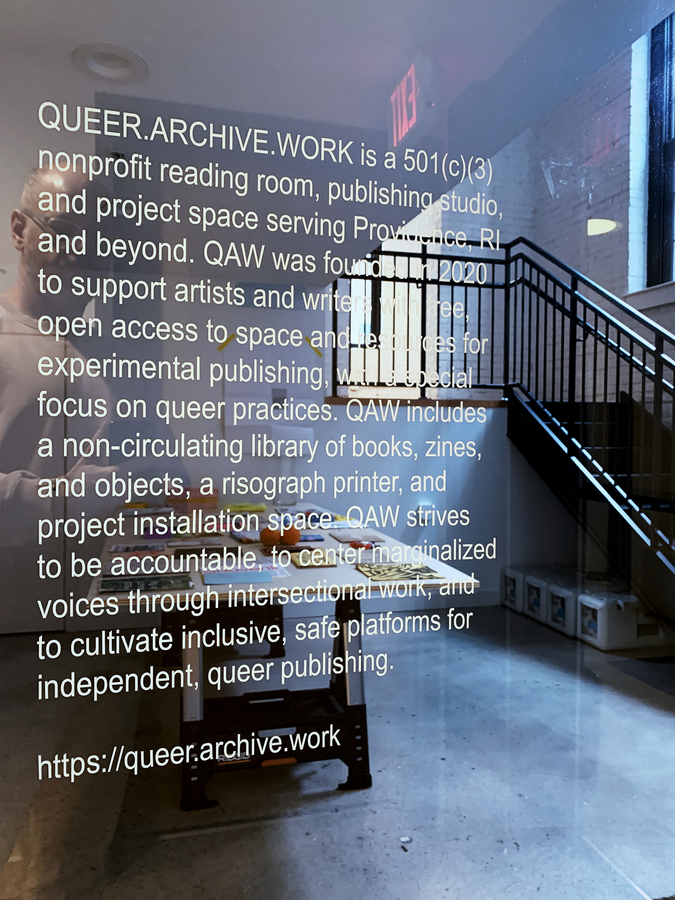 QUEER.ARCHIVE.WORK new space