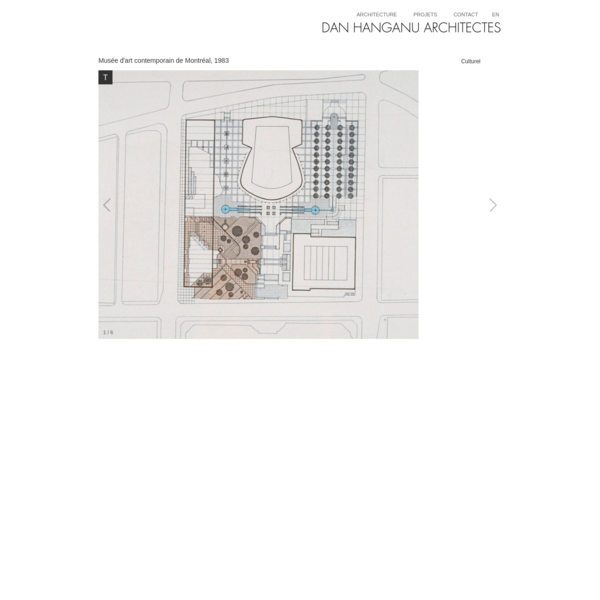 Dan Hanganu architectes - Musée d'art contemporain
