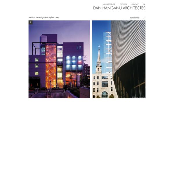 Dan Hanganu architectes - Pavillon de design de l'UQÀM