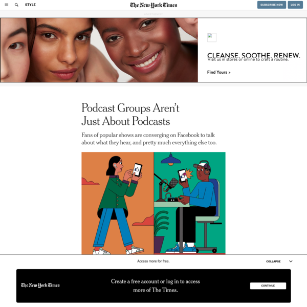 Podcast Groups Aren't Just About Podcasts