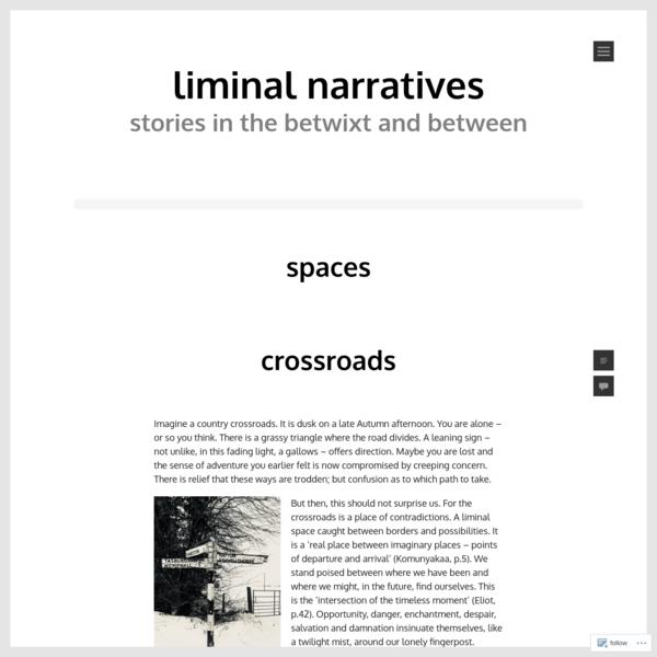 Spaces - Liminal Narratives