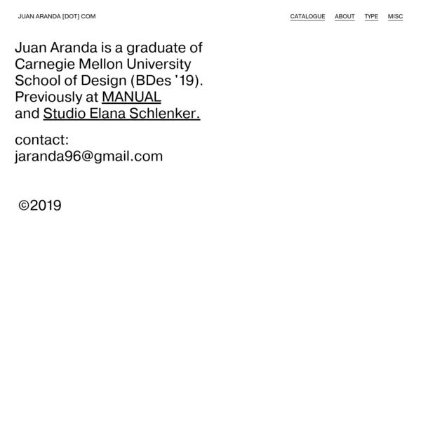 Juan Aranda - design