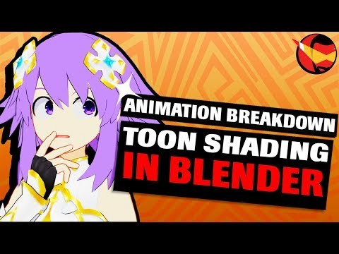 How To Toon Shade In Blender 2.8 | Animation Breakdown