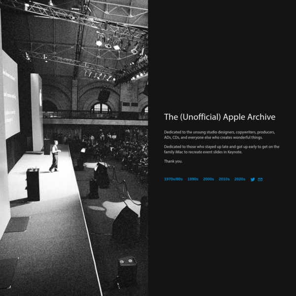 The Apple Archive