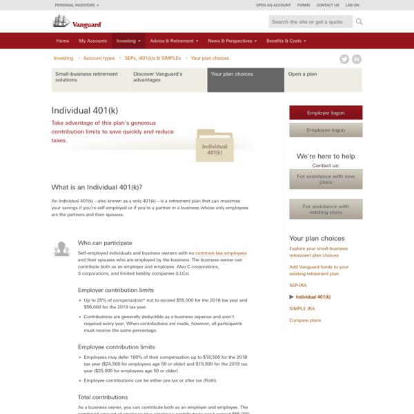 Individual 401(k)