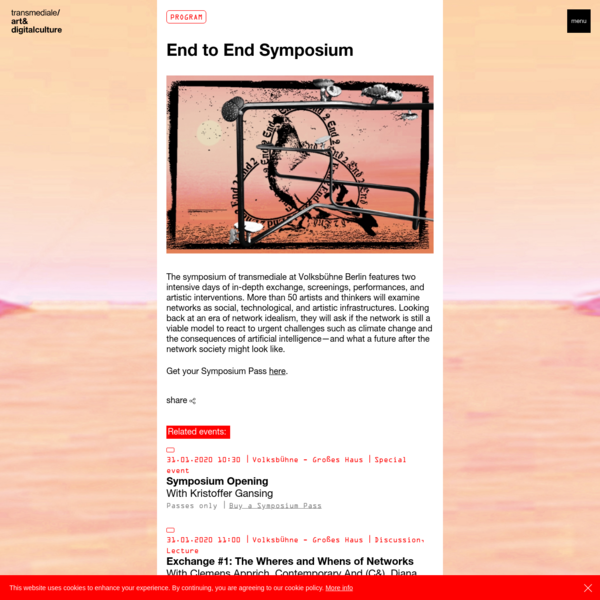 End to End Symposium