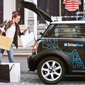 Drive Now, das innovative Mobilitätsangebot von BMW i, MINI und SIXT. Steig ein und aus, wo du möchtest. Erlebe urbanen Fahrspaß. Erlebe Carsharing mit DriveNow.
