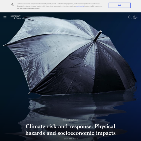 Climate risk and response: Physical hazards and socioeconomic impacts