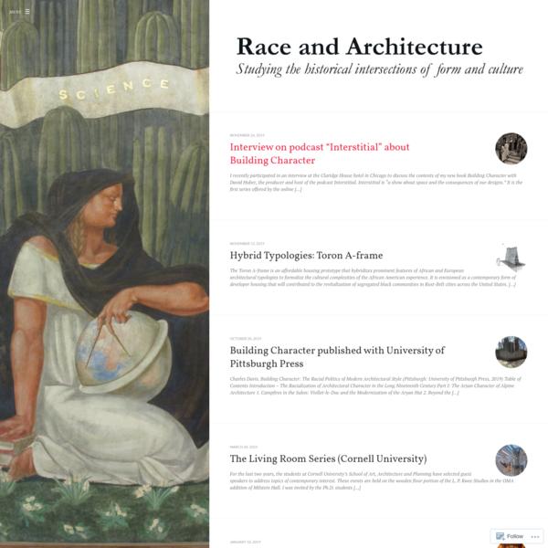 Race & Architecture
