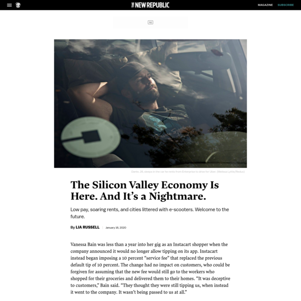 The Silicon Valley Economy Is Here. And It's a Nightmare.