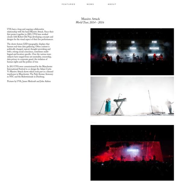 Massive Attack / United Visual Artists