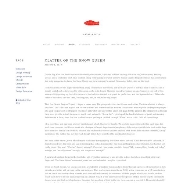 Clatter of the Snow Queen - Natalia Ilyin