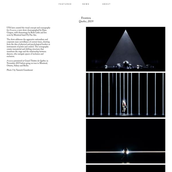 Frontera / United Visual Artists