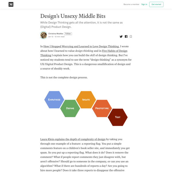 Design's Unsexy Middle Bits