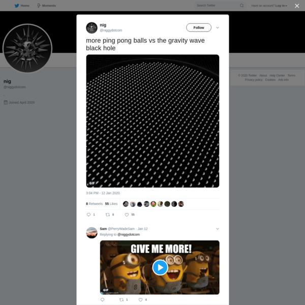 nig on Twitter