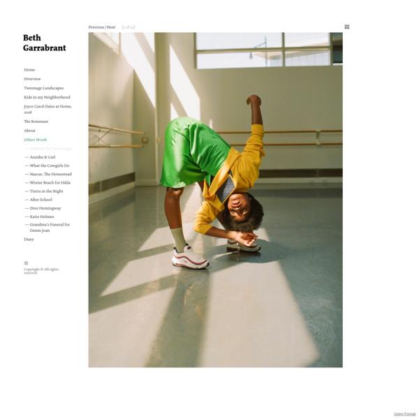 Athletes for Teen Vogue - Beth Garrabrant's Portfolio
