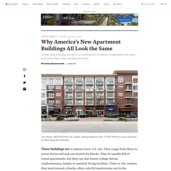 Why America's New Apartment Buildings All Look the Same - Bloomberg Businessweek - Pocket