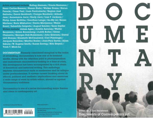 julian stallabrass documentary whitechapel documents of contemporary art