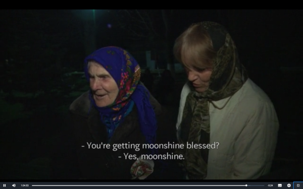 You're getting moonshine blessed?