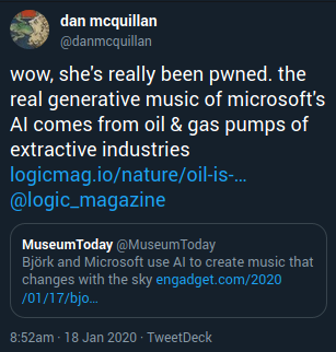 """""""the real generative music of microsoft's AI comes from oil & gas pumps of extractive industries"""""""
