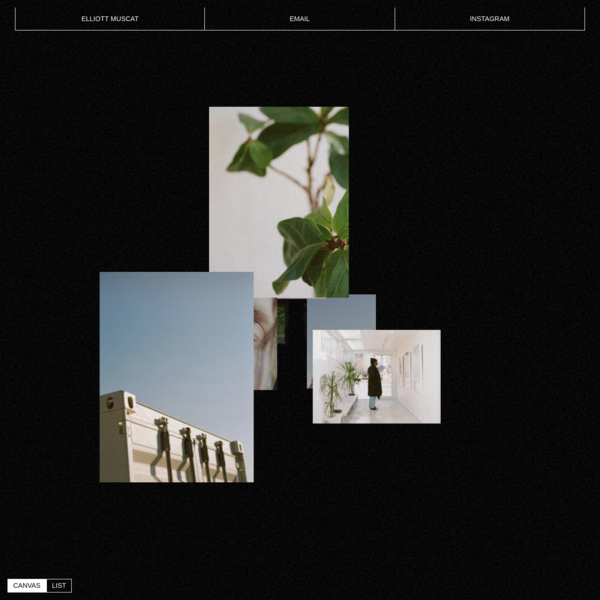 Elliott Muscat | Homepage