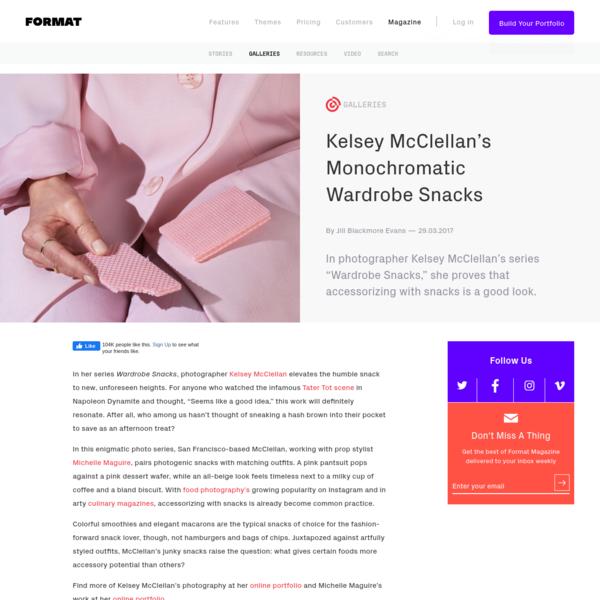 Kelsey McClellan's Monochromatic Wardrobe Snacks