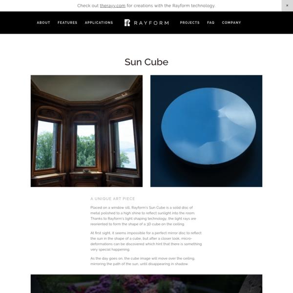 Sun Cube - RAYFORM SA