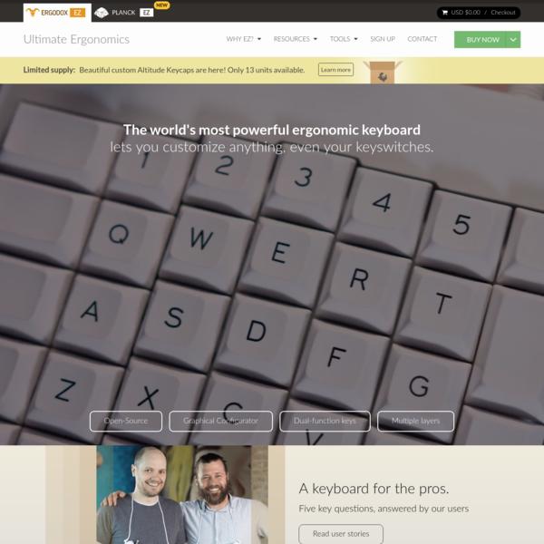 ErgoDox EZ: An Incredible Mechanical Ergonomic Keyboard