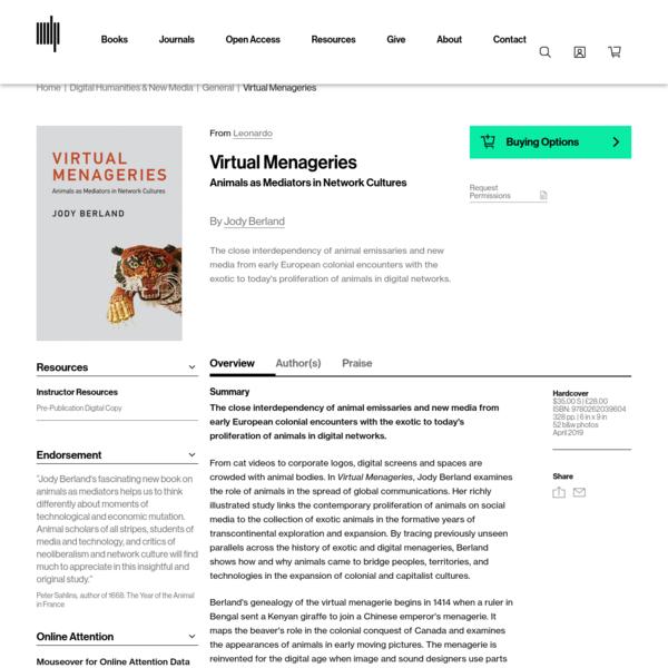 Virtual Menageries