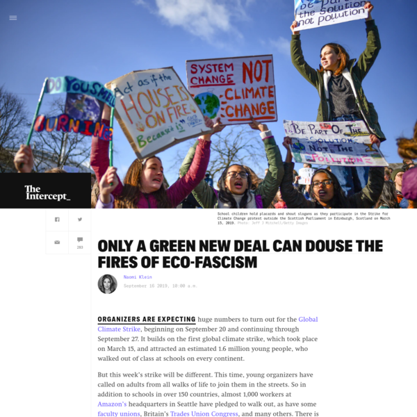 Only a Green New Deal Can Douse the Fires of Eco-Fascism
