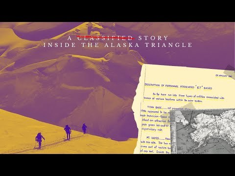 Military Files Show Extraterrestrial Base Under Alaska Observed in 1987