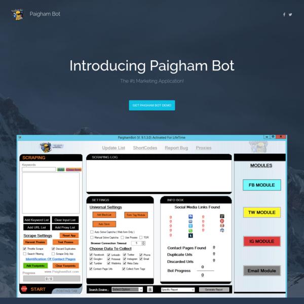 Paigham Bot
