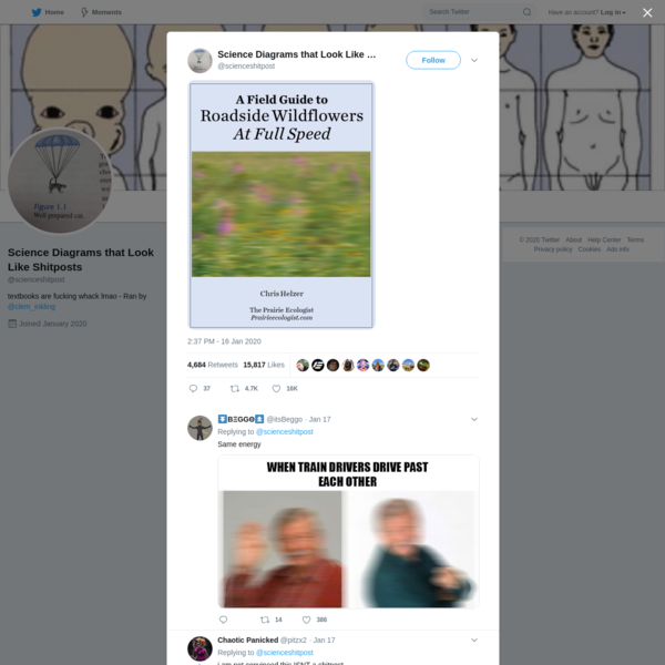 Science Diagrams that Look Like Shitposts on Twitter