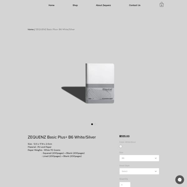 ZEQUENZ Basic Plus+ B6 White/Silver | zequenz