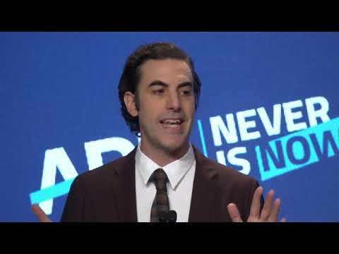 Never Is Now 2019 | ADL International Leadership Award Presented to Sacha Baron Cohen