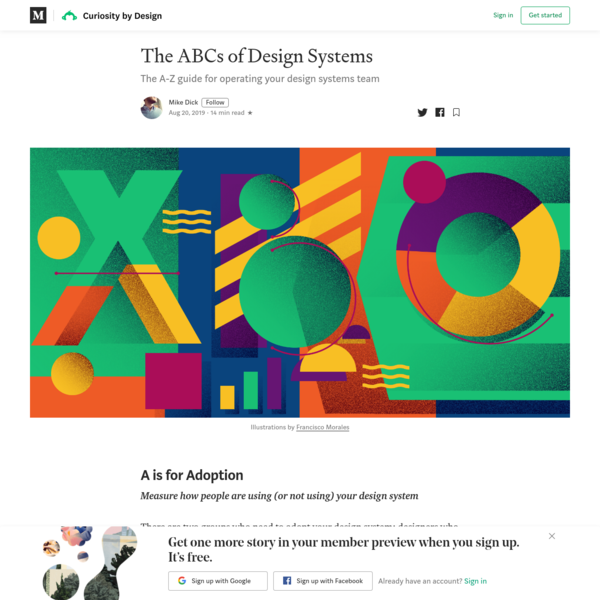 The ABCs of Design Systems