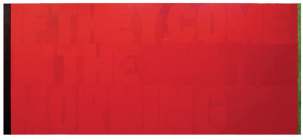 <i>Red (If they Come in the Morning)</i>, 2011<br>https://artforum.com/cart/id=38573&type=print